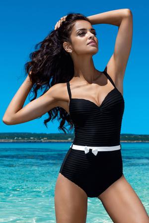 8e47b8a38 Dámské jednodílné plavky Jessica černé Push - up