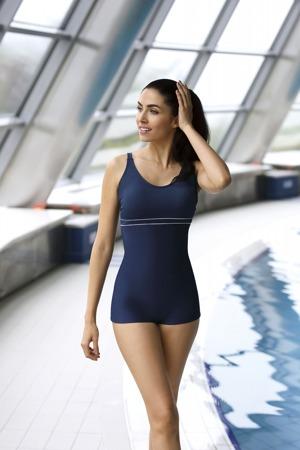 Jednodílné dámské plavky Self S 29 SZ
