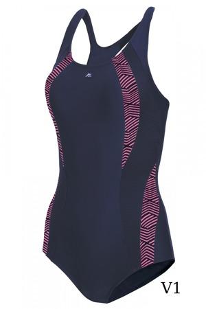 Jednodílné dámské sportovní plavky Self S 34 A