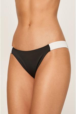 Spodní díl plavek KW0KW00840-BEH černobílá - Calvin Klein