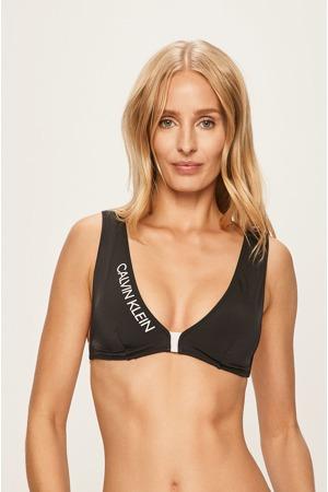 Vrchní díl plavek KW0KW00837-BEH černobílá - Calvin Klein